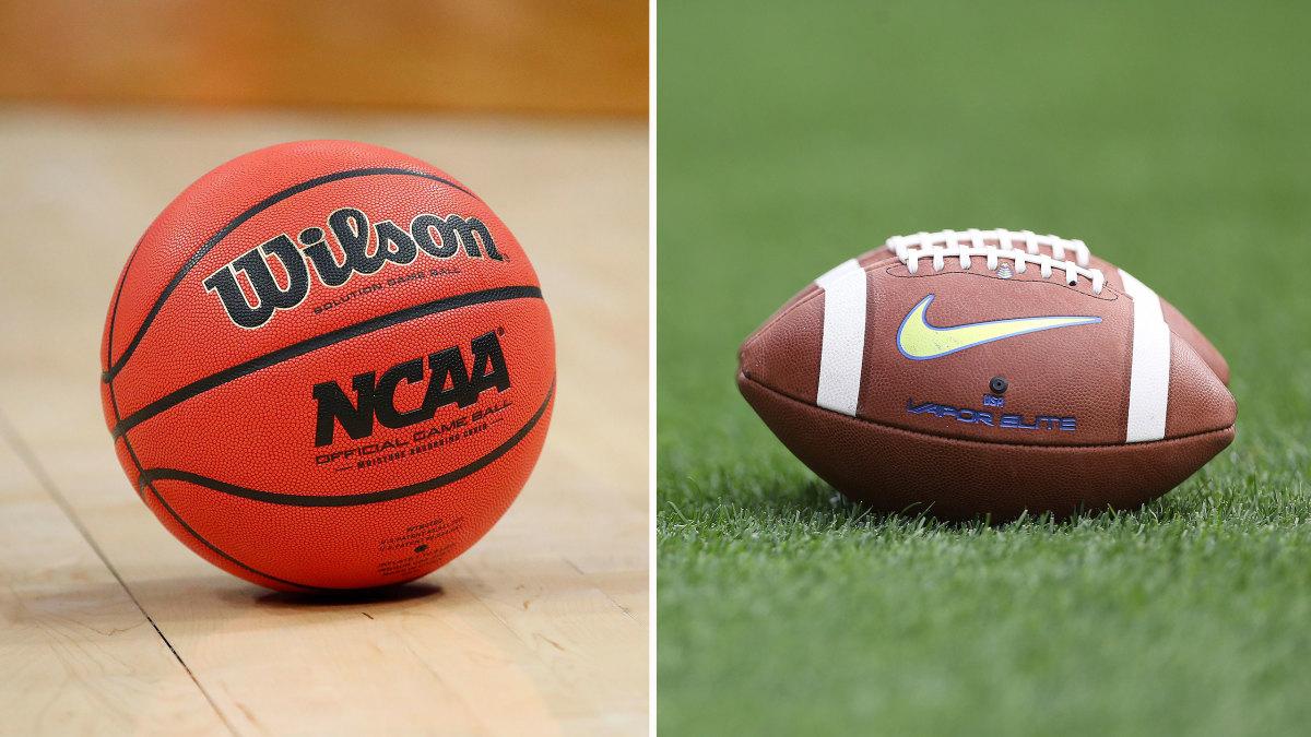 Football and Basketball Teams